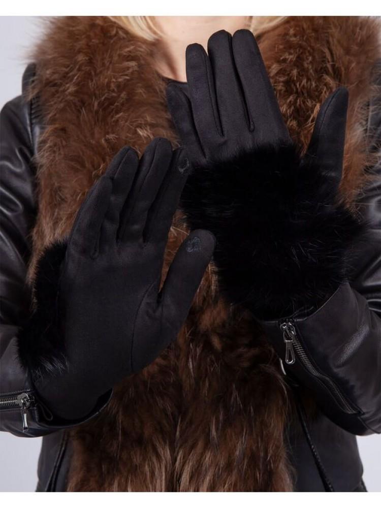 Moteriškos pirštinės su pašiltinimu E510