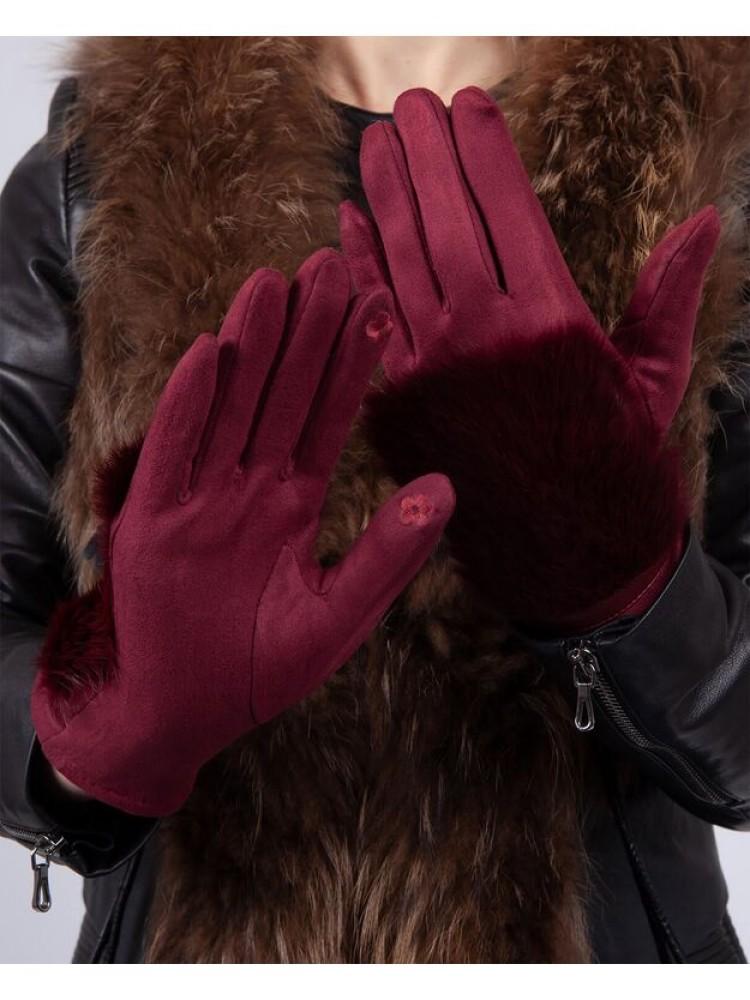 Moteriškos pirštinės su pašiltinimu E509