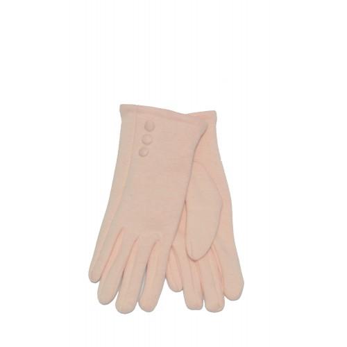 Moteriškos rožinės pirštinės su pašiltinimu E104