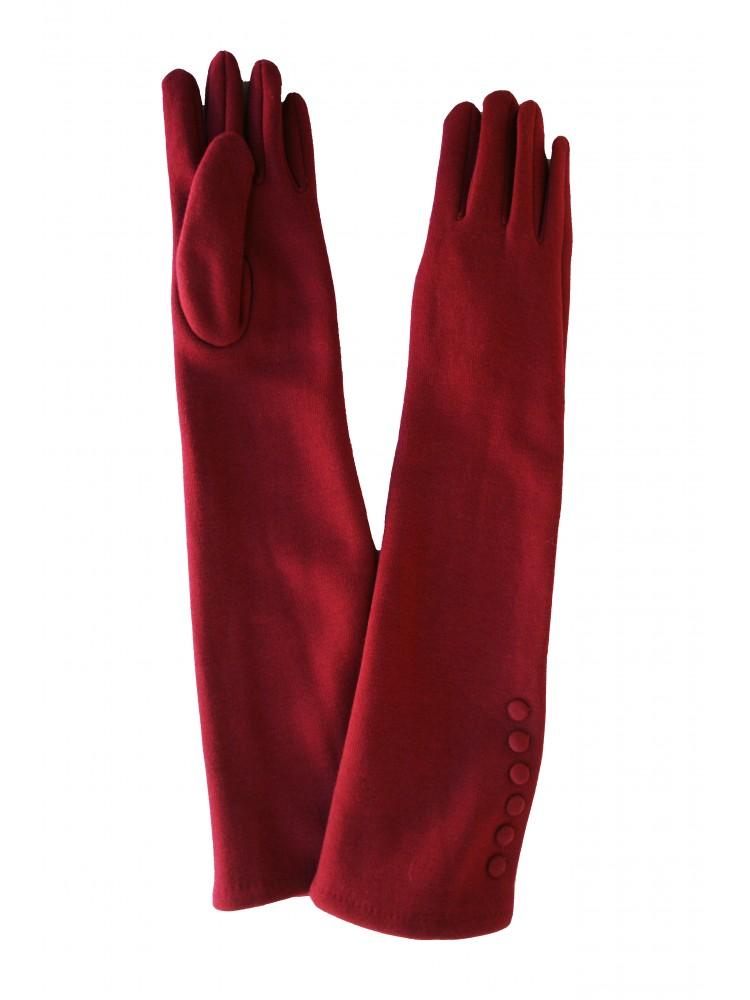 Moteriškos ilgos pirštinės su pašiltinimu I09