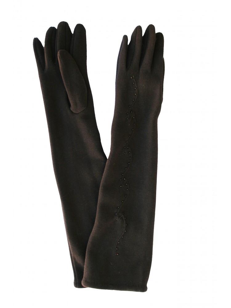 Moteriškos ilgos pirštinės su pašiltinimu I11