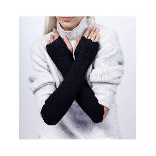 Moteriškos ilgos riešinės pirštinės I02