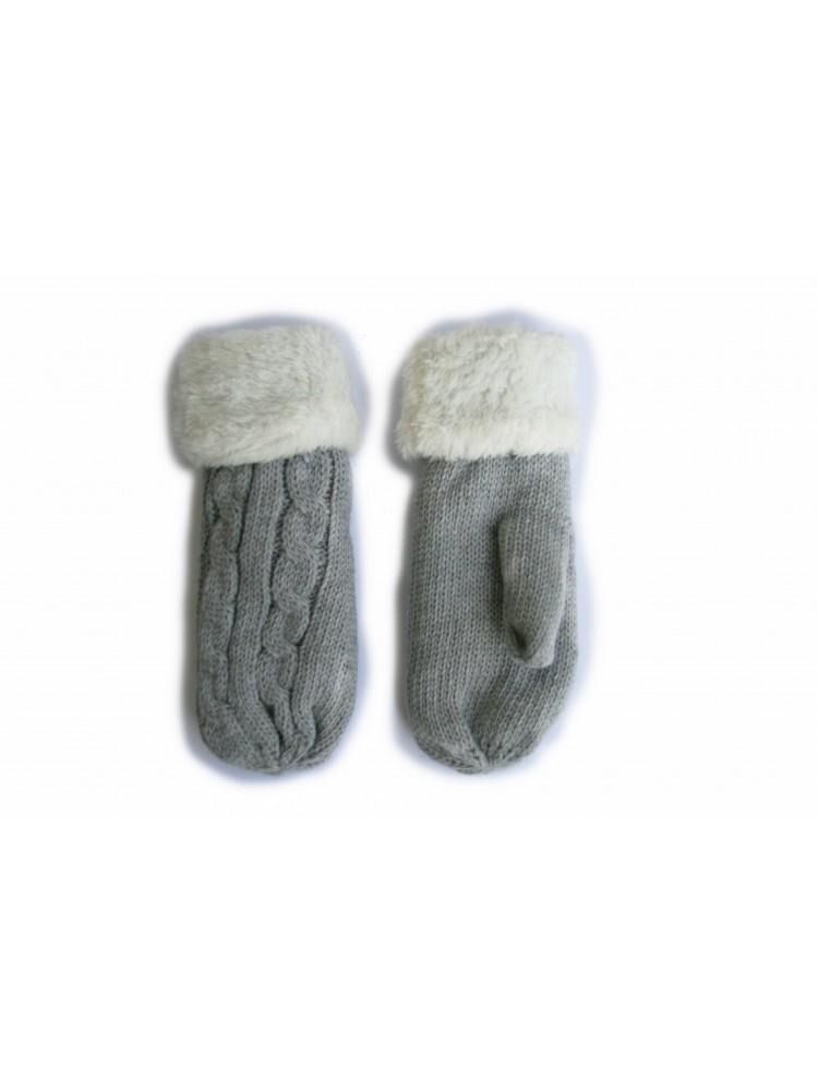 Vaikiškos dvigubos kumštinės pirštinės 18 cm D12