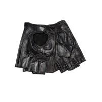 Vyriškos odinės pirštinės be pirštų V50