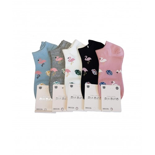Moteriškos kojinės 5 poros MK111