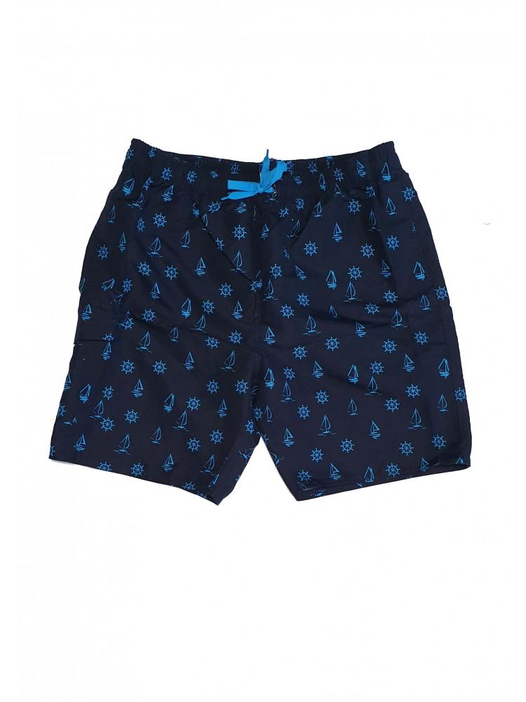 Vyriški mėlyni maudymosi šortai SIZE+ ZVS8956
