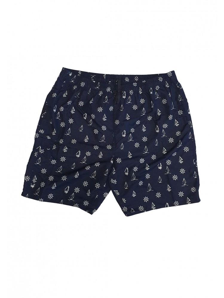 Vyriški mėlyni maudymosi šortai SIZE+ ZVS8956-2
