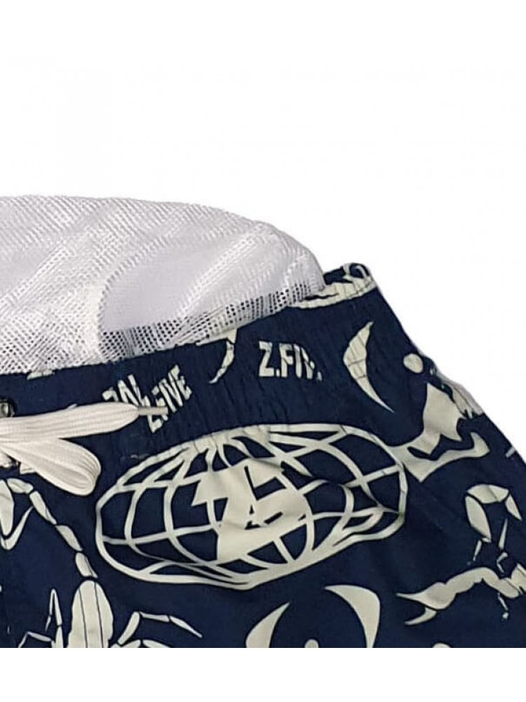 Vyriški mėlyni maudymosi šortai ZVS128
