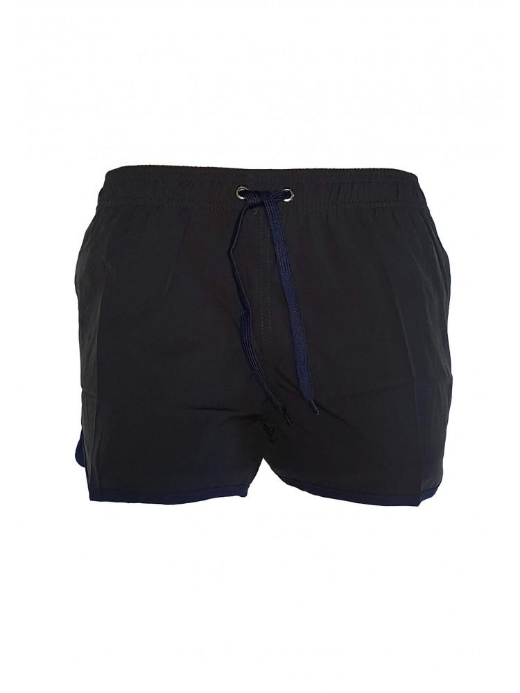 Vyriški juodi maudymosi šortai ZVS3741