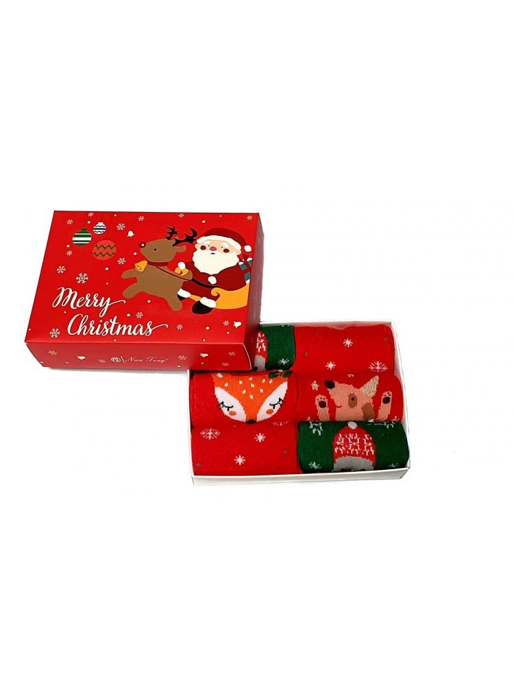 Vaikiškos Kalėdinės Kojinės 6 Poros KLDV08-1