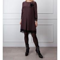 Moteriška suknelė su gipiūru LEN09