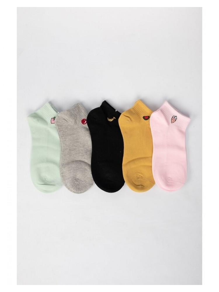 Moteriškos kojinės 5 poros MKT122