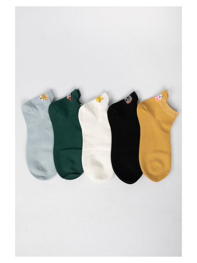Moteriškos kojinės 5 poros MKT123