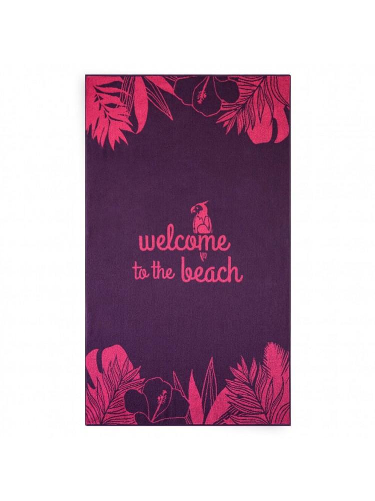 """Paplūdimio Rankšluostis """"WELCOME"""""""