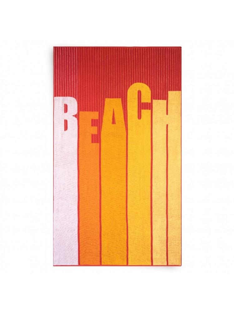 """Paplūdimio Rankšluostis """"BEACH RED"""""""