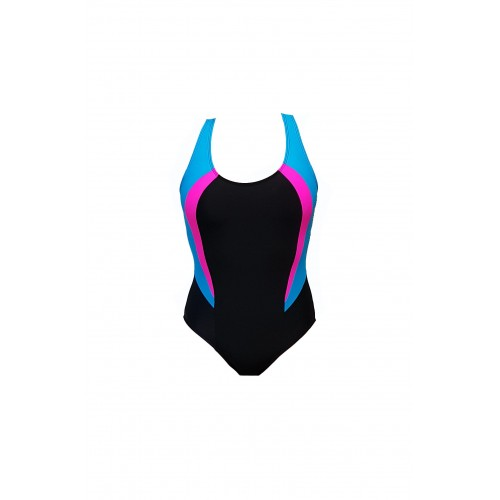 Vaikiškas juodas maudymosi kostiumėlis ZMV100