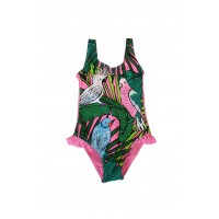 Vaikiškas rožinis maudymosi kostiumėlis ZMV103